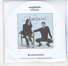 (GX516) Rangleklods, Straightjacket - 2015 DJ CD