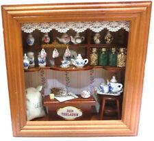 Quadro negozio del te Der Teeladen casa di bambole dollhouse