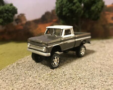 1965 Chevy K10 4x4 Lifted Custom 1/64 Diecast Truck Off Road 4WD Off Road