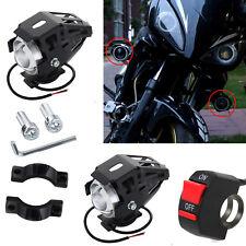 2X 125W Faros De Moto U5 La Motocicleta LED De Conducción Interruptor De Niebla