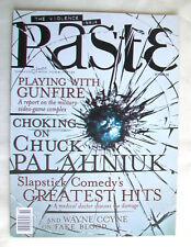 PASTE issue 47 October 2008 w/ CD SAMPLER Chuck Palahniuk