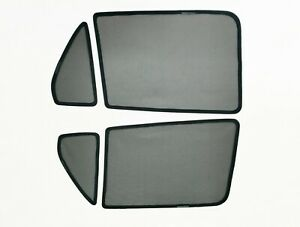 Rear Magnetic Window Sun Shades Mesh for Mercedes-Benz GLC 15-19 Tailored
