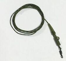 Cardine carpa Pronto Legato Leader Quick Change camleadcore Trans clip verde Confezione da 3