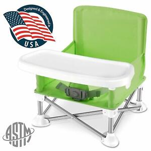 SereneLife SLBS66G Portable Baby, Toddler Seat Booster High Chair