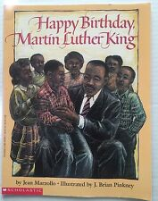 Happy Birthday Martin Luther King Childrens Picture Book 1993 Soft Cover