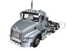 MACK PINNACLE DAY CAB TRUCK SILVER 1/64 DIECAST MODEL BY FIRST GEAR 60-0349