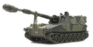 Artitec 6870154 - 1/87 HO Scale UK M109 A2 Self Propelled Howitzer - Train Load