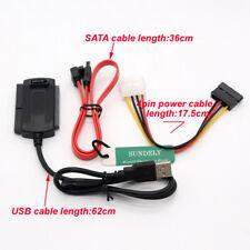 SATA/PATA/IDE a USB 2.0 Adattatore Convertitore Cavo per 2.5/3.5 Disco Rigido IT
