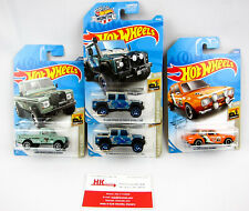 Hot Wheels: VW Baja Blazers: Excort #52 & 2015 Land Rover #14 - Qty 4 | NEW