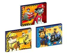 3 x PAW PATROL CANVAS ART BLOCKS/ WALL ART PLAQUES/PICTURES