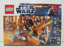 Star Wars Geonosian Cannon LEGO Set Model #9491 - Ages 7-12- 132 piece set
