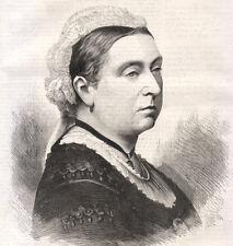 Regina Vittoria, 1887  xilografia