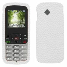 NEW White Fitted Silicone Soft Skin Case for LG 100c NET10 Tracfone nTelos