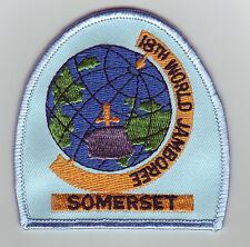 1995 World Scout Jamboree BRITISH / UK SOMERSET SCOUTS Contingent Patch