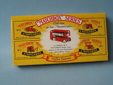 Matchbox Originals 5 Peice Boxed Gift Set RARE French Box Never Released