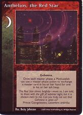 4 x Anthelios, the Red Star VTES CCG Promo