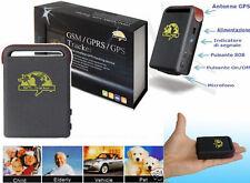 Localizzatore Satellitare GPS GSM SPRS Tracker.Antifurto auto,moto,cane,gatto...
