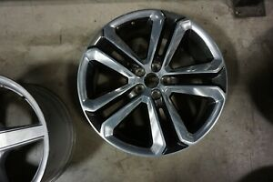 "(1) 20"" 2015-2018 Ford Edge Factory OEM Gray Polished Wheel Rim 10047"