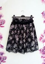 ~ Axes Femme ~ Skirt Rock retro vintage Gyaru Lolita A-Line Spitze floral Blumen