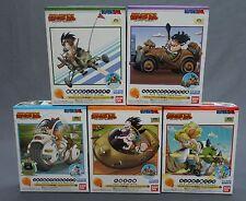 Mecha Collection Dragon Ball Vol.1-2-3-4-5 Set Lunch Ryu-Mao Bulma Goku Yamcha**