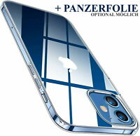 für iPhone 7 8 X 11 12 PRO 12 MINI   MAX   Hülle PREMIUM ULTRA SLIM Klar Clear