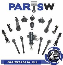 Steering Kit & Ball Joints For Chevy C1500 Suburban Gmc K1500 Sierra 93-00