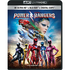 SABAN'S POWER RANGERS New,Sealed, 4K Ultra HD + Blu-ray+Digital HD