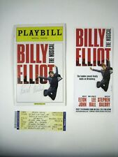 Billy Elliot Playbill 2009 Imperial Theatre Flyer Ticket Signed Kiril Kulish