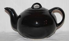 Vintage HIMARK Taiwan Classic Black Ceramic 4-Cup Tea Pot Teapot