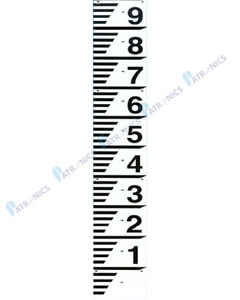 Water Depth Gauge Board - Water Level Marker Sign