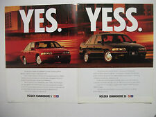 HOLDEN VP COMMODORE V6 S & V8 SS 2 PAGE COLOUR MAGAZINE ADVERTISEMENT