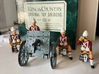 King & Country - Seaforth Highlander  Maxim Gun with Crew -with Box 1988 - Gloss