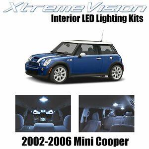 XtremeVision Interior LED for Mini Cooper 2002-2006 (7 PCS) Cool White
