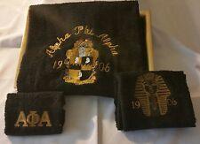 Alpha Phi Alpha Bath Towel Set