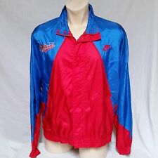 VTG Nike Grey Tag Buffalo Bisons Windbreaker Jacket Colorblock 90's Swoosh XL
