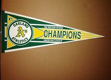 1988 Oakland A's Athletics West Division Champions MLB Pennant
