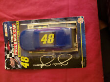 2009 Jimmie Johnson Lowes Do It Yourself Pull Back 1:34 scale toy car