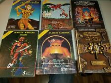 Dungeons And Dragons D&D Players Handbook, Masters Guide Plus 4 Other Books