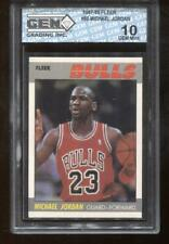 Michael Jordan 1987-88 Fleer #59 2nd Year Chicago Bulls HOF GEM MINT 10