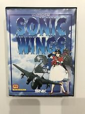 Sonic Wings 2 SNK Neo Geo Aes Japan Good Condition