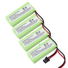 4x 2.4V 800mAh Replacement Battery for Uniden BT-1008S BT1008S DCX-200 DCX-210