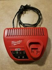 Genuine Milwaukee M12 Cat. No. 48-59-2401 Battery Charger 12v Tested Works Great