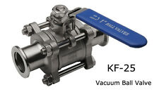 KF-25 Vacuum Ball Valve- For Dairy products -Cosmetics-Food and Chemical fields