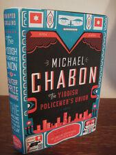 Yiddish Policemen's Union Michael Chabon Mystery 1st Edition Hugo Nebula Locus