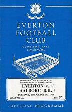 Everton Home Teams C-E Football European Club Fixtures