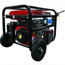 Generatore Mosa Red-Star Ge-6700 Avr Benzina Kw 5,0