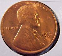 1937 D BU Lincoln Cent, Bright Uncirculated Wheat Penny (37DA1)