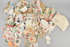 f17s74- Konvolut Briefmarken, gelaufen