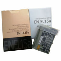 EN-EL15A EN-EL15 Battery For Nikon D7100 D750 D610 D7500 D7200 MH-25