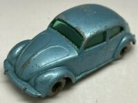 Matchbox Lesney No 25 Metallic Blue Volkswagen Beetle Bug - GPW